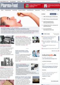 Fachportal: Pharma+Food.de